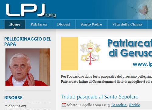 Nuovo sito lpj.org – 509